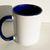 Abstract Blue DMT Art Mug, Coffee Mug, Tea Cup, Personalised Mug