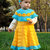 Crochet Baby Dress with Headband Holiday Toddler Dress Baby Outfit Toddler