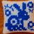 Spring Rabbit Delft Needle Art Mini Pillows SET of TWO