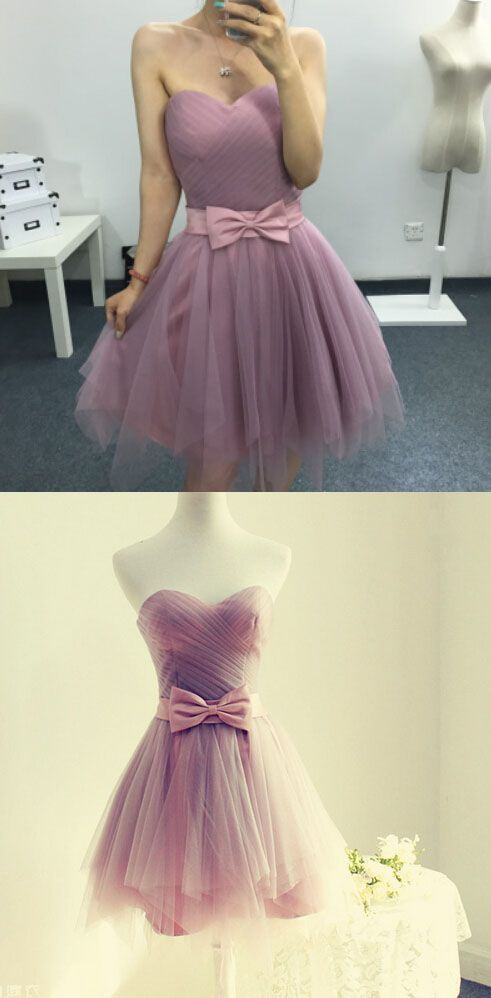 7d91507aed Lavender Homecoming Dress