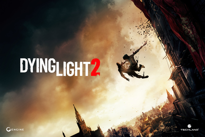 """Dying Light 2 Polyester Fabric Poster (13""""x19"""" or 18""""x28"""")"""