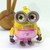 Japan Import Minion BOB Iridescent Jointed Cell Phone / Bag Charm Strap -