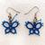 Tatted Butterfly Earrings
