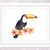 Toucan Print, Watercolour Toucan, Tropical Bird Art, Bird Print, Toucan Art,