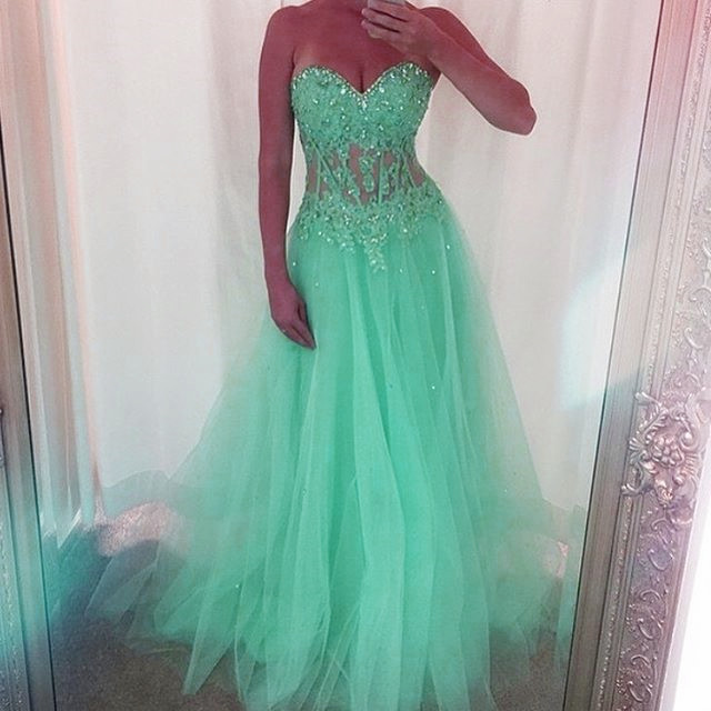 Sweetheart Prom Dresses,Prom Dress 2018,Women Evening Gowns,Formal Dress