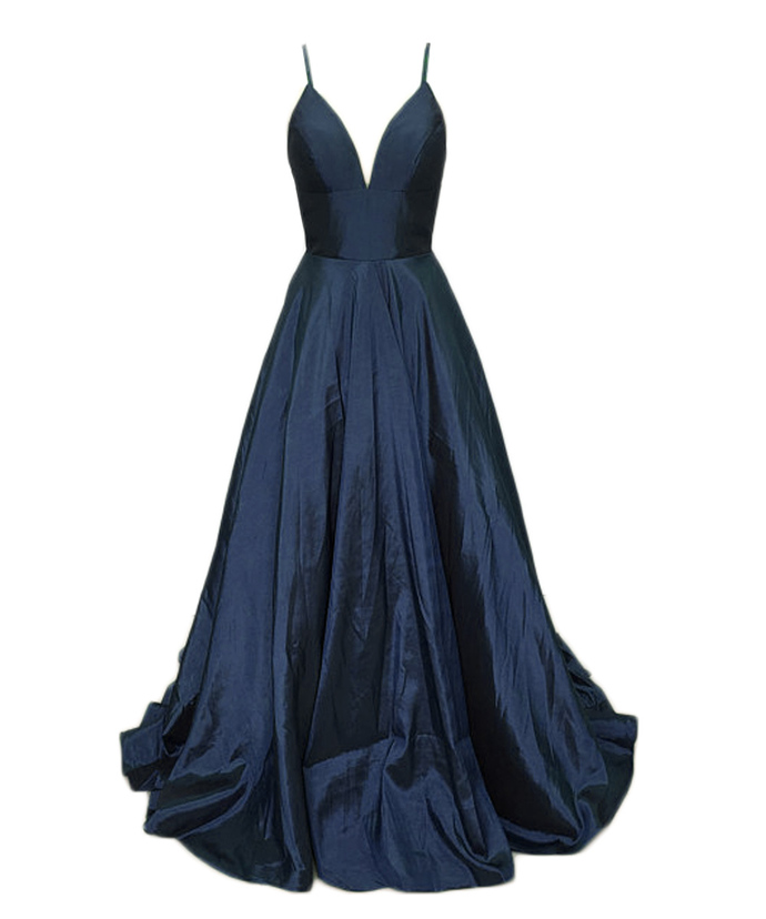 Sexy Navy Blue Bridesmaid Dressfloor Length By Prom Dresses On Zibbet