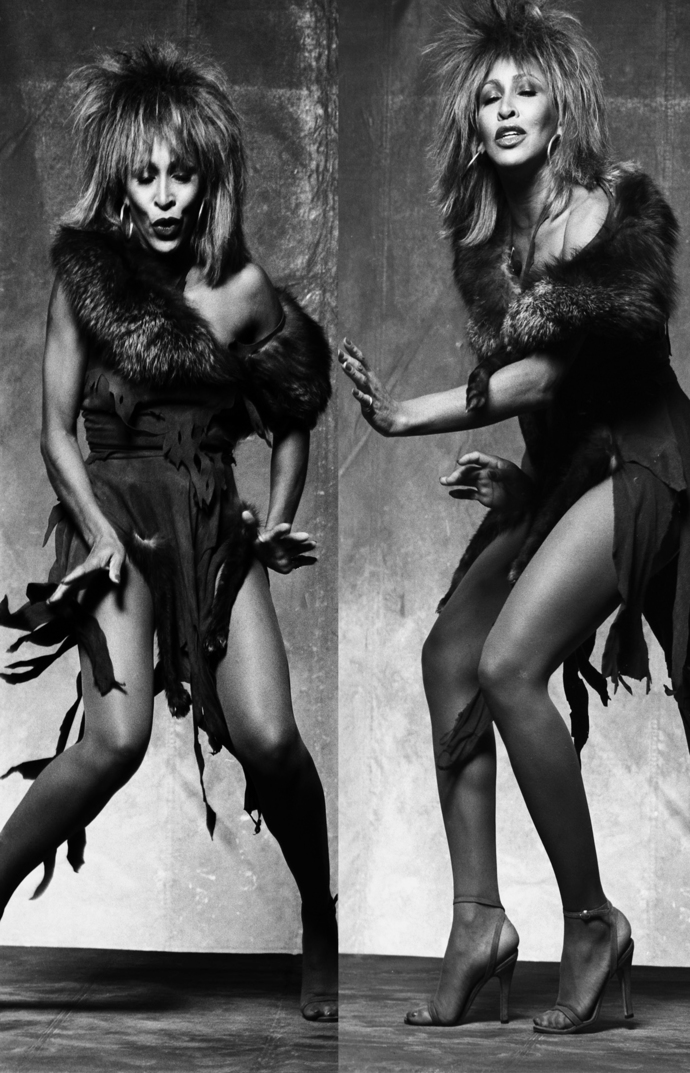"Tina Turner Canvas Print (13""x19"" or 18""x28"")"