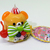 Japan Import Glitter Animal Cake Figure Cell Phone / Bag Charm Strap - New w/