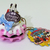Japan Import Dreamy Waffle Figure Cell Phone / Bag Charm Strap - New w/ Tag