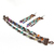 Rainbow Copper Jewellery Set Earrings Bracelet Czech Glass Beads Boho Layered