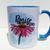Praise The Lord, Christian Flower Mug, Watercolor Art, Coffee Mug, Tea Cup