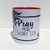 Pray More Worry Less, Inspirational Christian Mug, Watercolor Art, Coffee Mug,