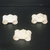 Pkg of 3 Handcrafted Wood Toy Police Cars 141AAH-U-3   unfinished or finished