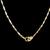 Lovely Vintage Estate 18K Gold Pendant w/ 21K Necklace 8.0g E2790