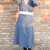 Vintage dress 60s tailored style length below the knee OOAK Made in Italy