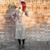Vintage beige dress 60s tailored style length below the knee OOAK MAde in Italy