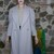 Vintage grey wool Coat 80s with light gray lining OOAK made in italy