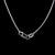 Womens Vintage Estate 14K Gold Necklace w/ Diamond Heart Pendant 4.0g E2793