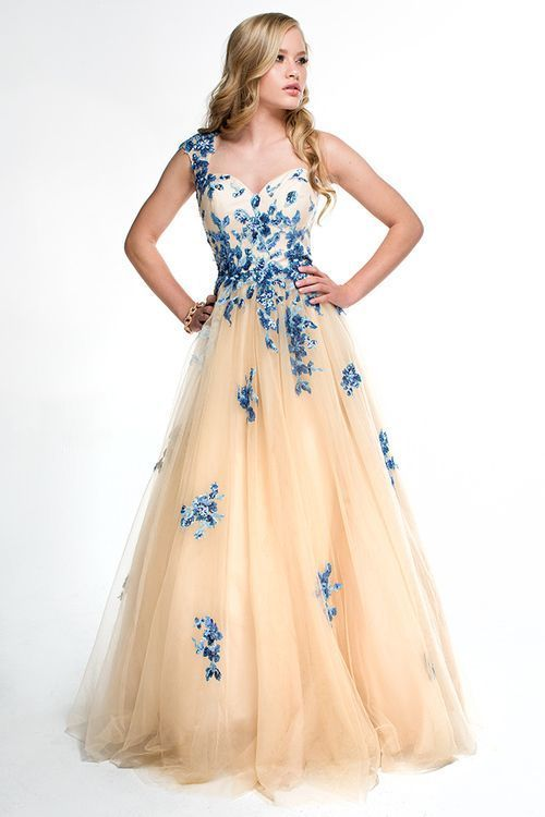 Champagne Evening Gowns ,One Shoulder Evening by prom dresses on