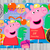 Peppa pig, Peppa pig birthday, Peppa pig invitation, Peppa pig party sign, Funny