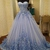 Sweetheart Tulle A Line Prom Dress, Appliques Long Evening Dress