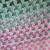 Tri-Color Hues Crochet Throw