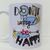 Dont Worry Be Happy, Cute Donut Mug, Happy Mug, Coffee Mug, Tea Cup