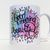Good Morning Beautiful, Handpainted Design, Coffee Mug, Tea Cup