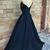 Sexy Off Shoulder Navy Blue Prom Dress,Lace up Back Prom Dresses,Long Evening
