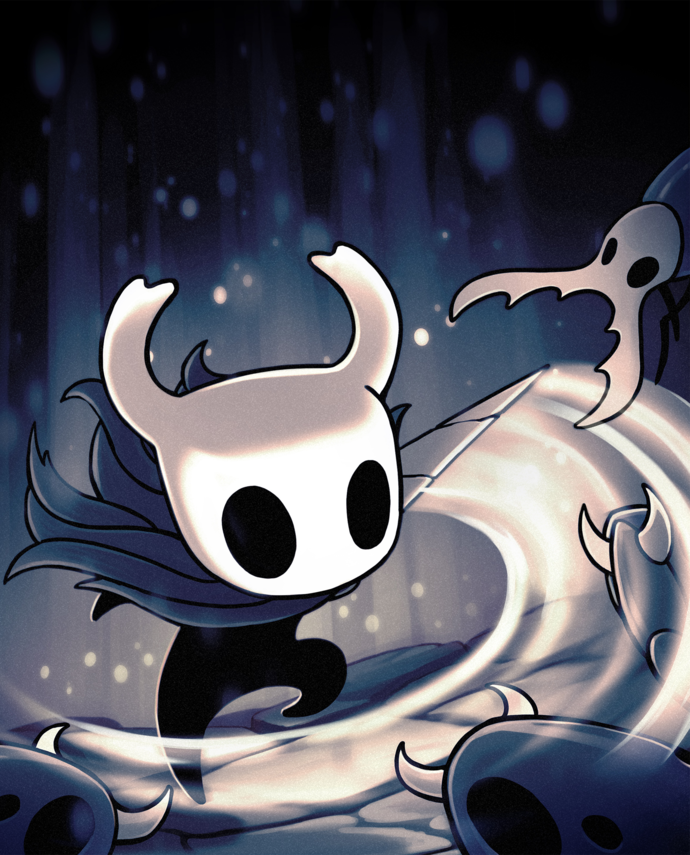"Hollow Knight Canvas Print (13""x19"" or 18""x28"")"