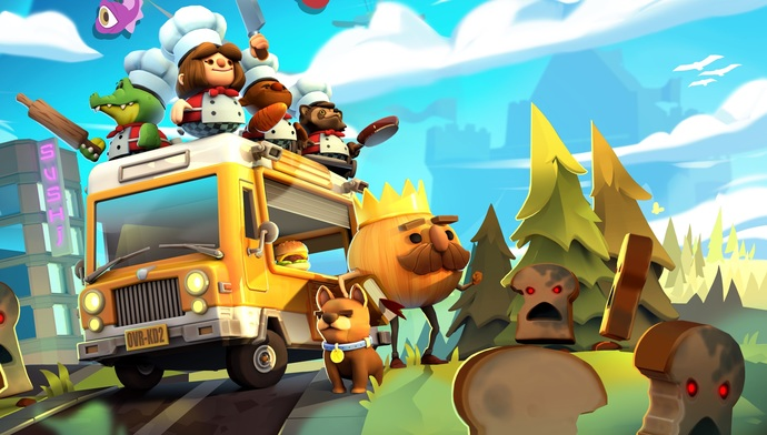 """Overcooked 2 Canvas Print (13""""x19"""" or 18""""x28"""")"""