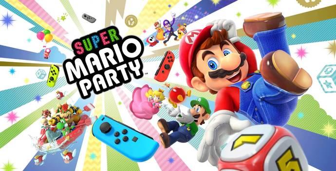 "Super Mario Party Canvas Print (13""x19"" or 18""x28"")"