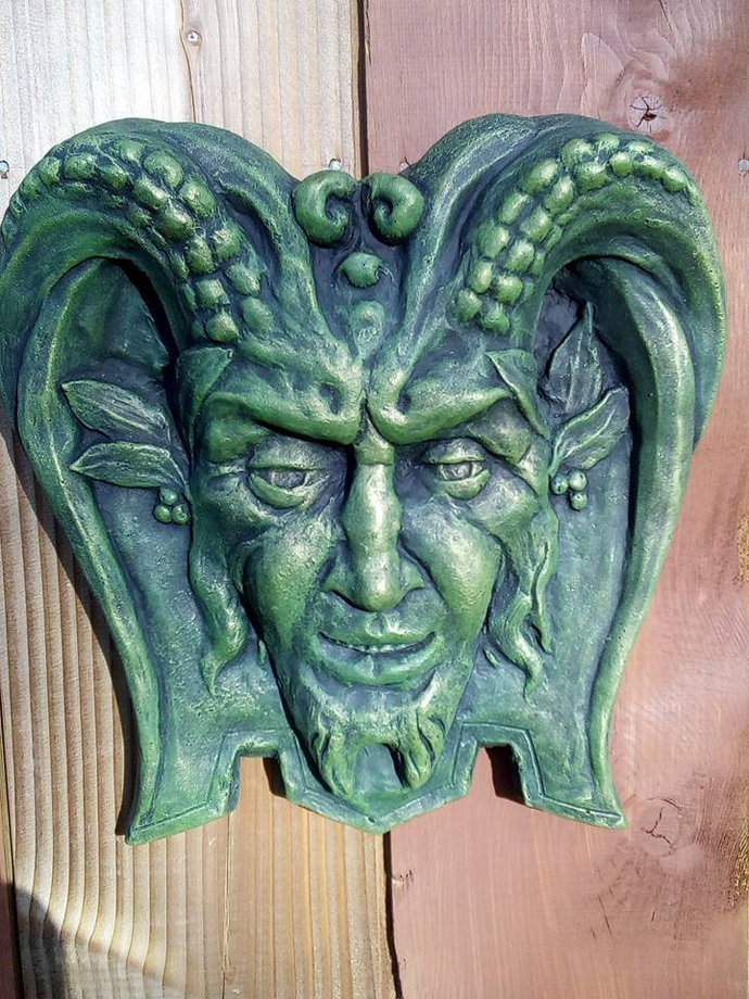 Pan Ancient Greek God Green Man Spirit By Scotcrew Ornaments On