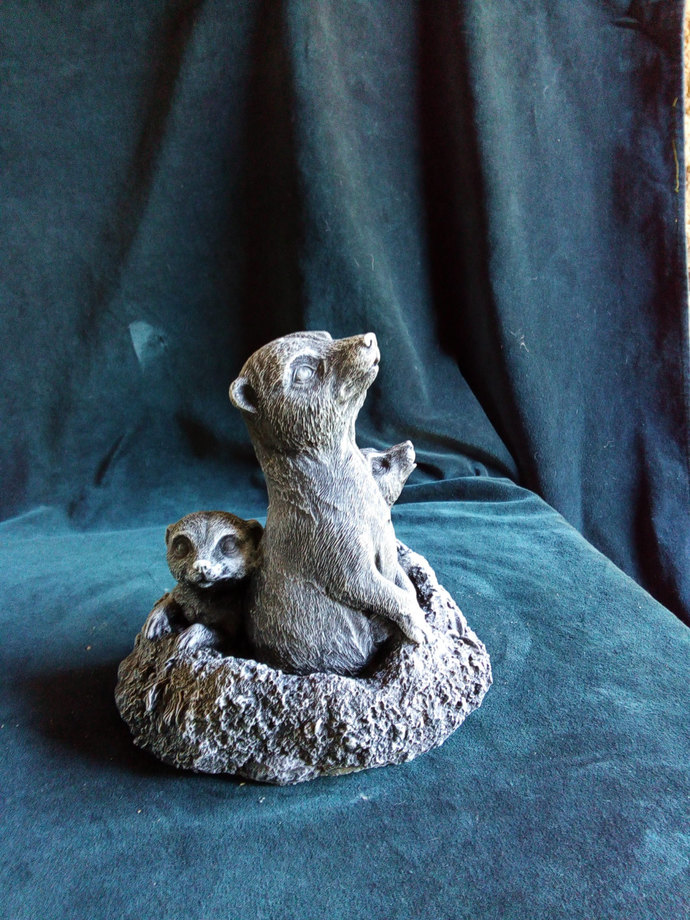 Meerkat Family Ornament