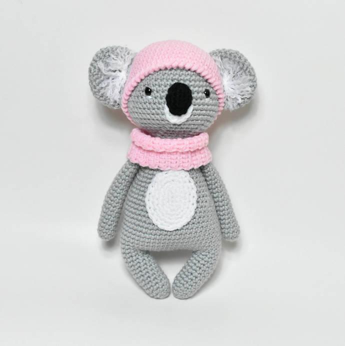 Koala Crochet Koala Stuffed Animal By Bbadorables On Zibbet