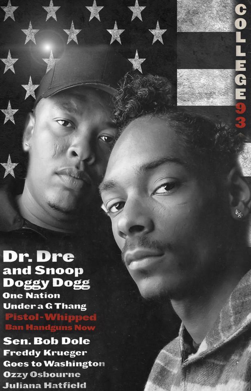 "Snoop Dogg  Dr Dre Canvas Print (13""x19"" or 18""x28"")"