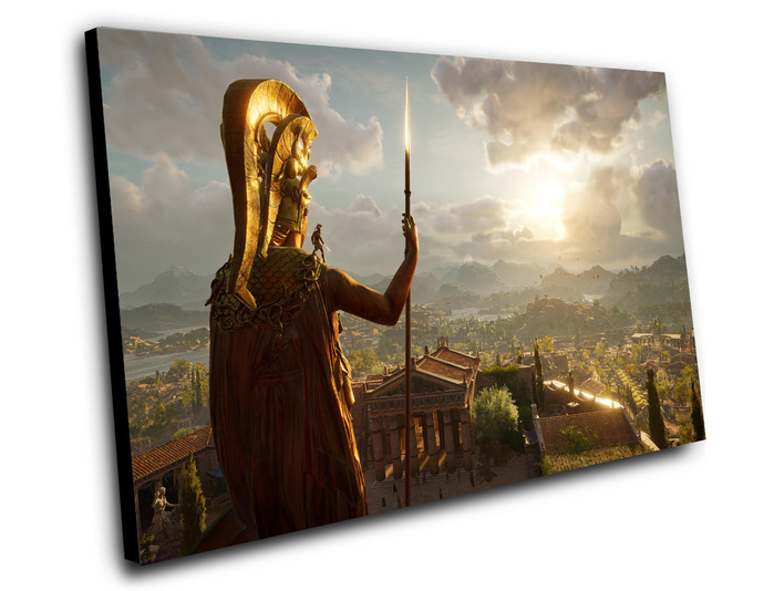 """Assassin's Creed Odyssey Game Canvas Print (8""""x12"""" or 12""""x16"""")"""