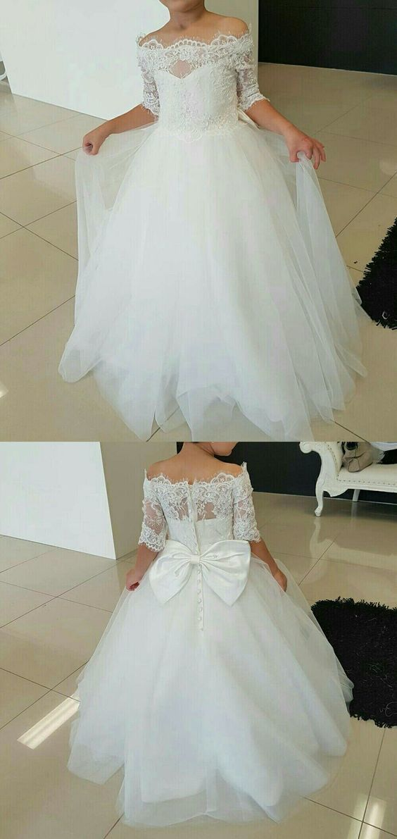 Charming Tulle and Lace Off Shoulder Ball Gown by RosyProm on Zibbet
