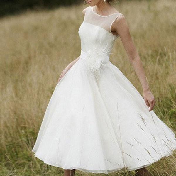 Elegant White Prom Dress, Tulle Prom Dresses, Long Prom Gown