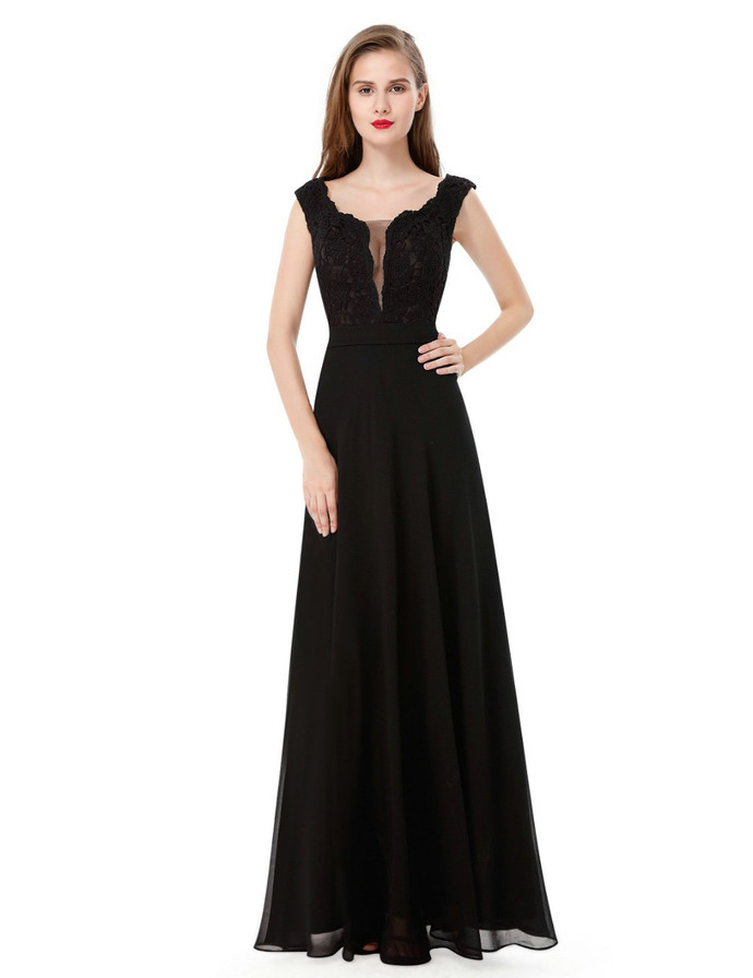 Cheap Fitted China Black Prom Dresses Long By Prom Dresses On Zibbet