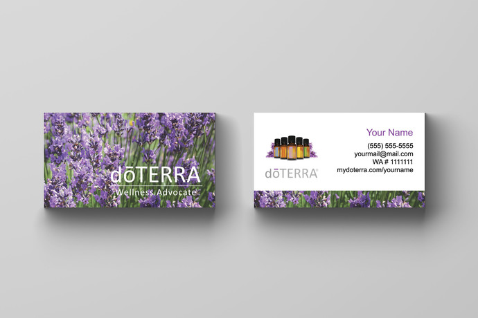 Doterra essential oils business card by okprintables on zibbet doterra essential oils business card colourmoves