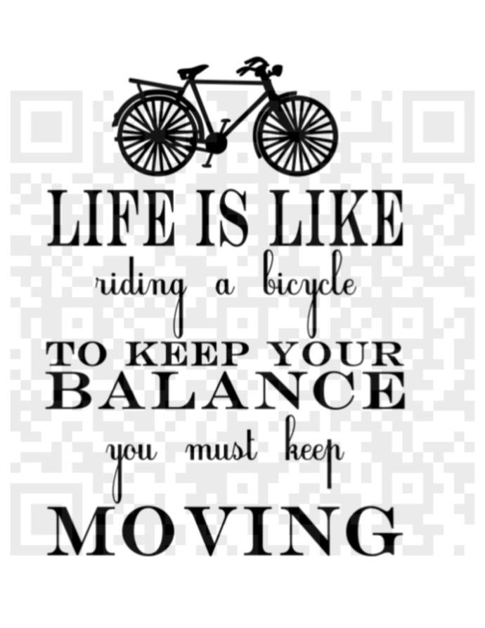 Bicycle svg, Life is like riding a bicycle SVG, Life quote svg, Life Bike