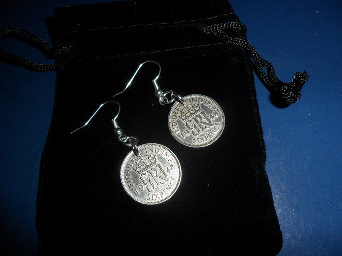 1948 70th Birthday Gift For A Woman British By Coins2gifts On Zibbet