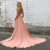 Satin Prom Dresses A-line Long High Neck Evening Dresses Simple Formal Gowns