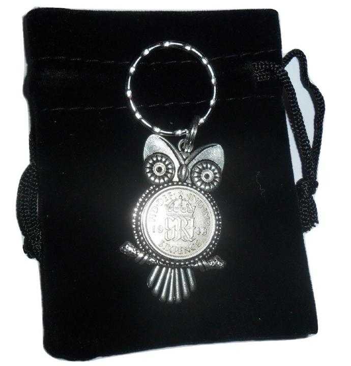 70th Birthday Gift For A Man 1948 Owl By Coins2gifts On Zibbet