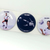 "'90s TOYOTA x Gary Lineker 3.25"" Large Pinback Button Set Of 3 Pins / Badges +"