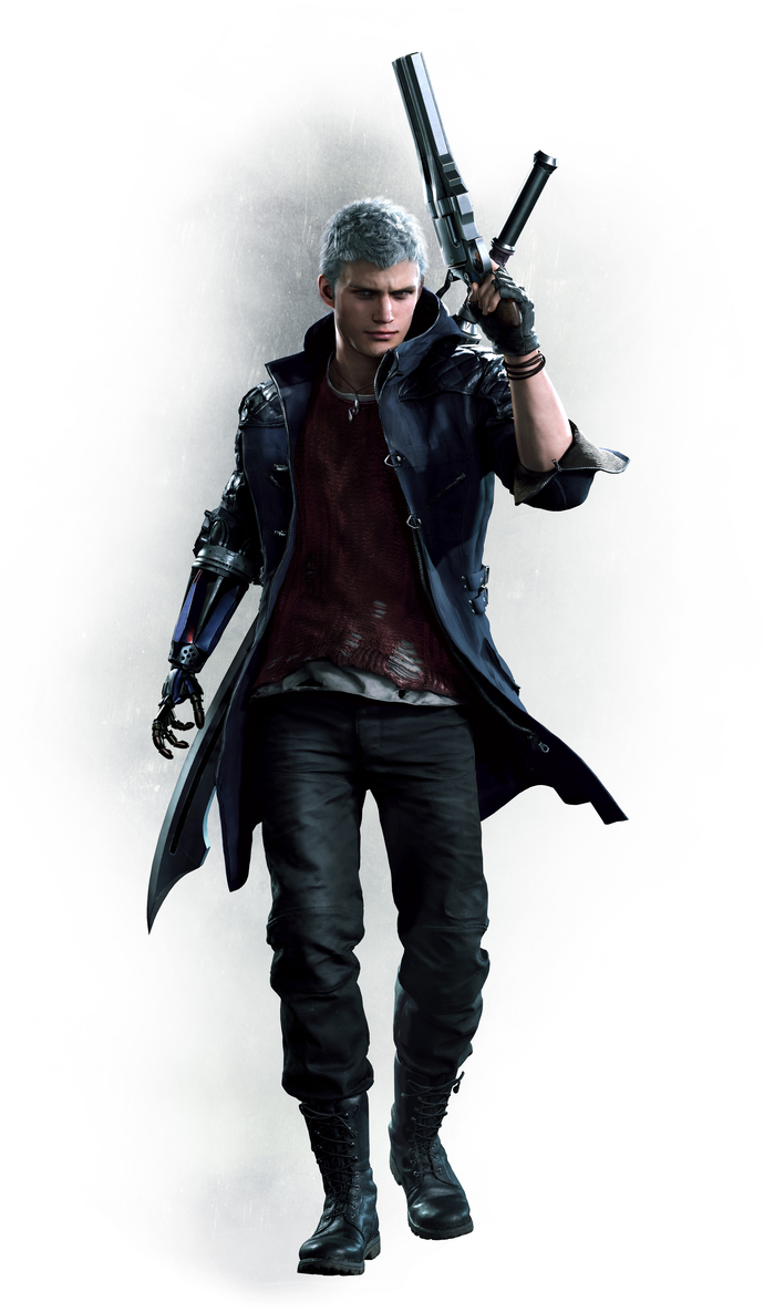 "Devil May Cry 5  Polyester Fabric Poster (13""x19"" or 18""x28"")"