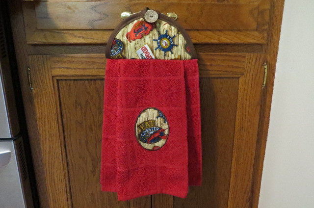 Hanging Kitchen Towel, Hanging Dish Towel, Hanging Hand Towel, HangingTea Towel,