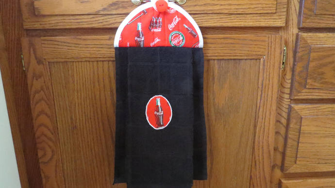 Coke Cola Dish Towels Hanging Kitchen Towel Hanging Hand Towel Hanging Tea  Towel