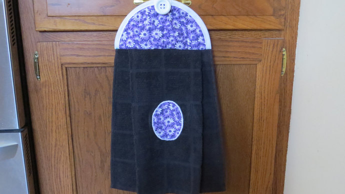 Floral Dish Towels Hanging Kitchen Towel Dish Towel Tea Towel Kitchen Towels
